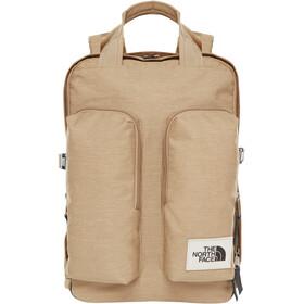 The North Face Mini Crevasse Backpack kelp tan dark heather/asphalt grey light heather